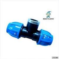 China made in china pp compression fittings pp fitting female tee wholesale