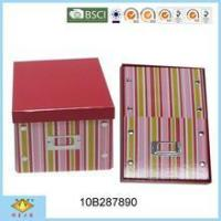 Buy cheap Foldable Box Foldable Handmade Cardboard Storage Box from wholesalers