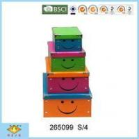China Foldable Box Hot Sale New Product Smile Face Foldable Paper Box wholesale
