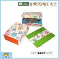 Buy cheap Foldable Box Lucky Grass Handmade Foldable Box Gift Box from wholesalers