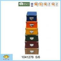 Buy cheap Coloful Hot Sale Storage Box With Lid from wholesalers