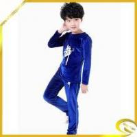 China Cotton Material Long Sleeve Black Blue Practice Performance Wear Boy wholesale