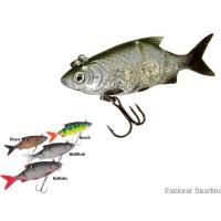 Buy cheap Soft Plastic Baits Product Double Jointed Lazer Eye Shad Lure from wholesalers