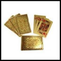 Buy cheap Chinese Dragon playing card gold foil playing card best gift from China from wholesalers
