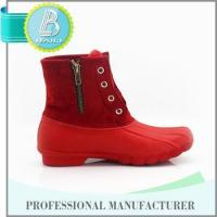 2016 Top quality Home-use Removable red cheap rain boots for women