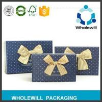 China Customized Recycled Gift Paper Packaging Box wholesale