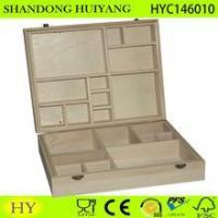China compartments wooden essential oil box, oil bottle storage box wholesale