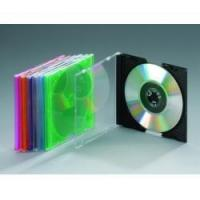 China CD Case Mini 4.5MM CD Case for 8cm disc(black) on sale