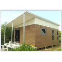 China Light Steel Structure Australian Granny Flat / Foldable House With Light Weight wholesale