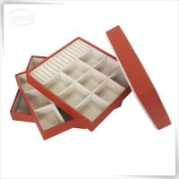 China faux leather jewelry tray wholesale