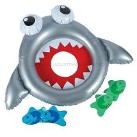 China Inflatable Shark Bean Bag Toss Game on sale