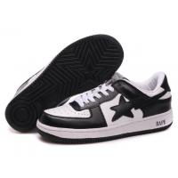 China Bape New and Better shoes black / white wholesale