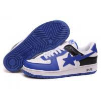 China Bape New and Better shoes blue / white wholesale