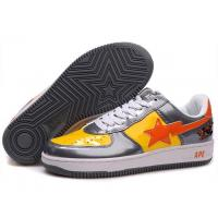China Bape Cartoon shoes black / yellow / red wholesale