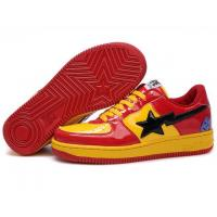China Bape Cartoon shoes red / yellow wholesale