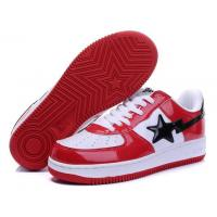China Bape Classic Shoes - Red / White / Black wholesale