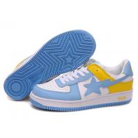 China Bape New and Better shoes blue / white / yellow wholesale