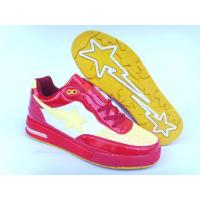 China Bape Air shoes red / white / yellow wholesale