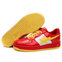 China Bape Cartoon shoes red / white / yellow wholesale