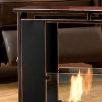 China Portable Indoor / Outdoor Gel Fuel Fireplace on sale