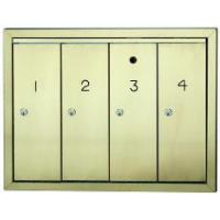 China Aluminum & Brass Mailbox Systems on sale
