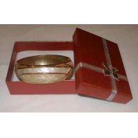 Buy cheap Bangle w gold rim & opal sheets from wholesalers
