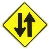 Buy cheap Two Way Traffic Sign from wholesalers