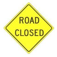 Buy cheap Road Closed Sign from wholesalers