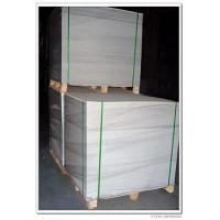 China 250-500gsm White Coated Duplex Board With White Back on sale