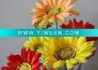 China Artificial Crafts(970) daisies plastic flowers wholesale