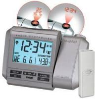 China Projection Alarm w/Remote Temperature Tabletop Clock by La Crosse on sale