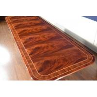 China American Crafted Large 11 ft Long Mahogany Dining Table Retail $9,000 on sale