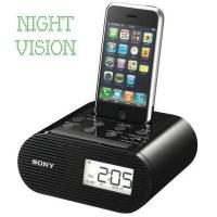 China Sony iPhone Charger Hidden Camera Alarm Clock and Radio wholesale