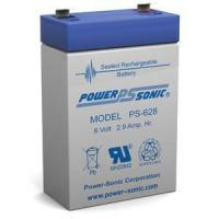 China Power Sonic PS-628 - 6 Volt 2.9 Ah Battery on sale