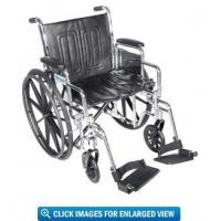 "China Drive Medical Chrome Sport Wheelchair with 16"" Seat wholesale"