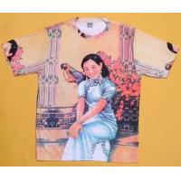 China Girl With Parrot Shirt - Short Sleeves wholesale