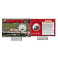China Candlestick Park Silver Coin Card wholesale