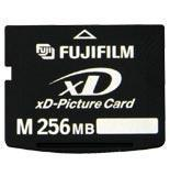 China xD Picture Cards Fuji 256MB xD Picture Card Type M on sale