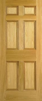 Quality Composite Door 6 Panel Oak Composite Door for sale