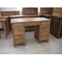 Buy cheap Dressing Sets & Bed Oak Double Dressing Table from wholesalers