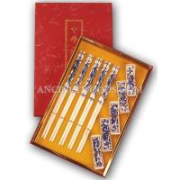 Buy cheap Chinese Porcelain Chopsticks Set from wholesalers