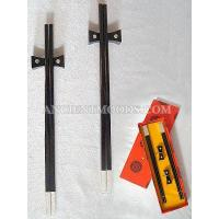 Buy cheap Dragon & Phoenix Ebony Chopsticks Set from wholesalers