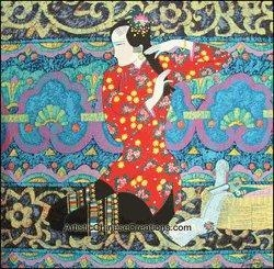 Quality Chinese Modern Painting - Maiden #15 for sale