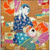 China Chinese Modern Painting - Mother & Son #11 wholesale