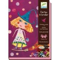 China Arts & Crafts Djeco Stitching Cards - Witches wholesale