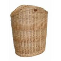 China willlow/wicker laundry basket wholesale
