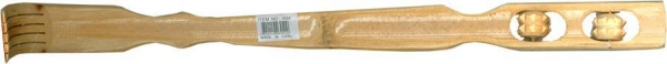 Quality 694 - Bamboo Back Scratcher With 2 Rollers (18.5 Inches Long ) for sale