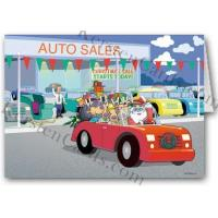Buy cheap Christmas Cards Santa's New Ride Holiday Card from wholesalers