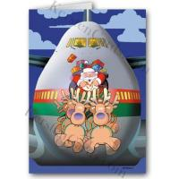 China Christmas Cards Look Out Behind You! Holiday Card wholesale