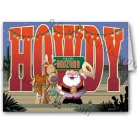 Buy cheap Christmas Cards Howdy From Arizona! Holiday Card from wholesalers
